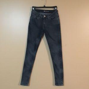 Levis Legging Jegging Black Gray Wash Jean Size 27